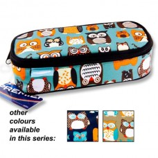 Z:Pencil Case Oval Owl