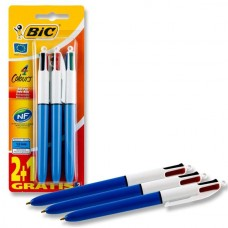 Z: Ballpoint Bic 4 Colour Pack3