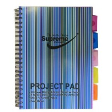Z: Lecture Pad Stripe A4 250PP+Tabs