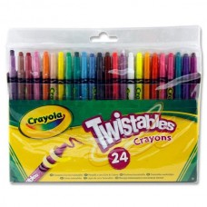 Z: Crayola 24 Twistable Crayons