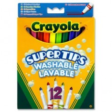 Z: Crayola 12 Supertips Washable