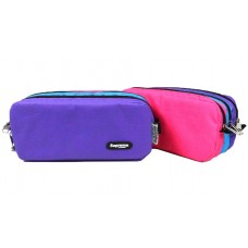 Z: Pencil Case Blue Triple Zip