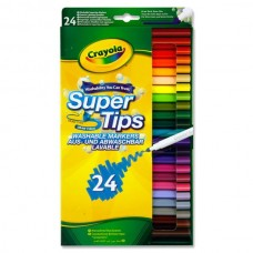 Z: Crayola 24 Supertips Washable