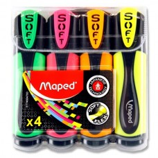 Z: Maped Soft Highlighters 4