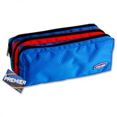 Z:Pencil Case 3 Pocket Blue/Red