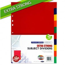 Z: Subject Dividers 10 Extra Strong
