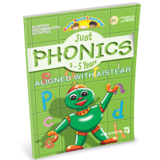 Just Phonics 3-5 Years [Aistear]