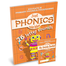 Just Phonics 26 Sounds PACK