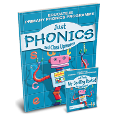 Just Phonics 3rd Class PACK