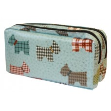 Z: Pencil Case Double Zip Dogs