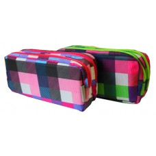 Z: Pencil Case Double Zip Squares