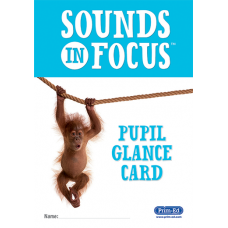 Sounds in Focus Glance Cards
