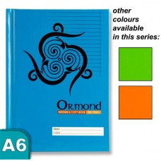 Z:Note Book A6 Hardcover Ormond