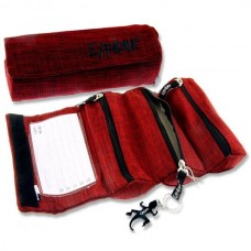 Z:Pencil Case Roll Up Red