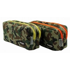 Z: Pencil Case Double Zip Army