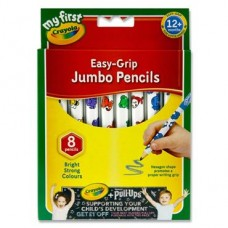 Z: Crayola 8 Easy Grip Jumbo