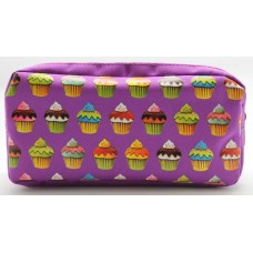 Z: Pencil Case Double Zip  Cupcake