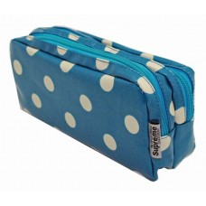 Z: Pencil Case Double Zip Dots