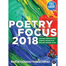 Poetry  Focus 2018 Higher Level