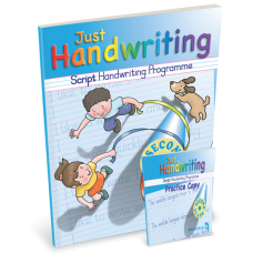 Just Handwriting  2nd Class Script PACK