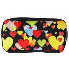 Z: Pencil Case Double Zip Hearts