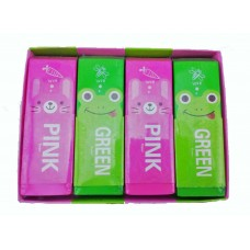 Z: Jumbo Pink and Green Eraser