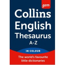 Dictionary Thesaurus Collins Gem