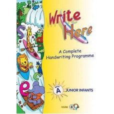 Write Here A Junior infants Handwriting