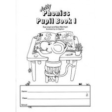 Jolly Phonics Book 1 Black/White