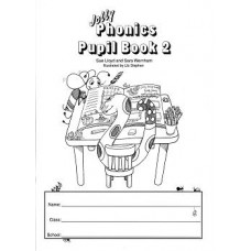 Jolly Phonics Book 2 Black/White