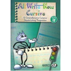 All Write Now B Cursive Writing