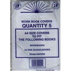 Z: Workbook Covers A4 Pack 5