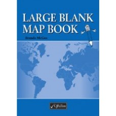 Fallons Large Blank Map Book